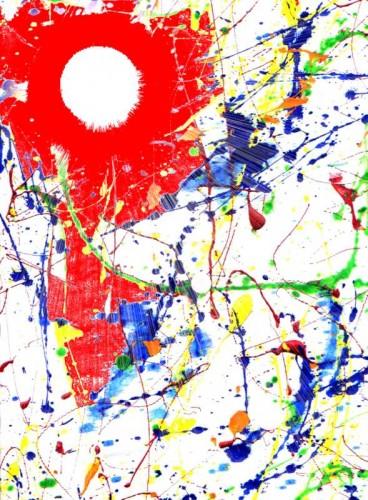 Art graphique et acrylique (soleil).JPG