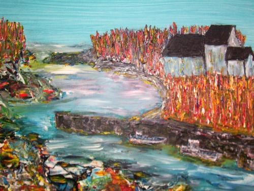 arts,acrylique,marine,