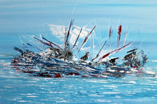 arts,acrylique,marine,abstrait,