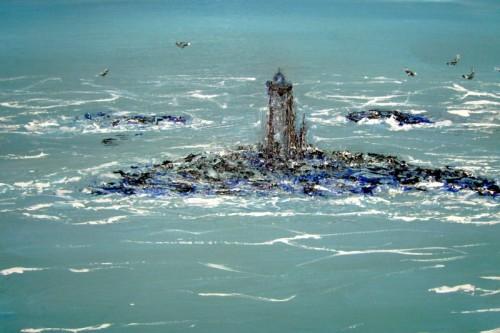 art,peinture,huile,marine